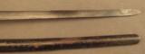 Trapdoor Bayonet In Blank Rosette Scabbard - 3 of 7