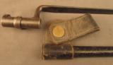 Trapdoor Bayonet In Blank Rosette Scabbard - 2 of 7