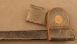 Trapdoor Bayonet In Blank Rosette Scabbard - 6 of 7