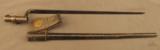 Trapdoor Bayonet In Blank Rosette Scabbard - 1 of 7