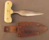Unique Push Dagger by R. Alldeon of Memphis cir 1860s - 1 of 11
