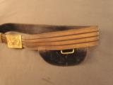 US Pattern 1872 Officers Field Belt And Plate - 3 of 6