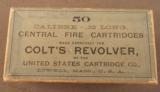 US Cartridge Co .32 Long For Colt's Revolver Box - 1 of 3