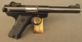Ruger Mark 2 Target Pistol