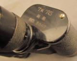 WW2 Japanese Military Binoculars with Bring Back Certificate - 4 of 11