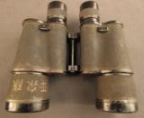 WW2 Japanese Military Binoculars with Bring Back Certificate - 6 of 11