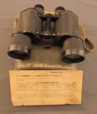 WW2 Japanese Military Binoculars with Bring Back Certificate - 1 of 11