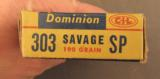 Dominion 303 Savage Soft Point Ammo - 3 of 3
