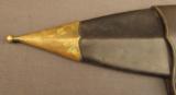 Very Fine Wellman, Frost & Co 1868 Trowel Bayonet Scabbard - 6 of 8