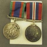 Handmade Swagger Stick and Medals Belonging to Pvt. Leo D. Melanson RC - 6 of 14