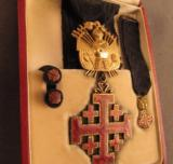 Equestrian Order of the Holy Sepulchre Medal Set (Knight Rank) - 3 of 4
