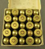 French 11.43 MM (45 ACP) Pistol Ammo Dated 4-56 - 2 of 3