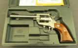 Ruger Single Ten 22 Long Rifle Revolver In Box