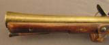British Brass-Barreled Blunderbuss With Personal Inscription - 8 of 12