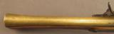 British Brass-Barreled Blunderbuss With Personal Inscription - 11 of 12