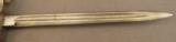 Turkish Bayonet M 1903 Shortened - 3 of 6