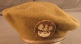 1946 Dated Polish Military Kangol Beret Excellent Condition - 1 of 4