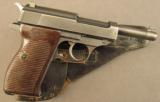 WW2 German P.38 Pistol by Walther (With 35* Marking) - 1 of 12