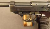 WW2 German P.38 Pistol by Walther (With 35* Marking) - 5 of 12