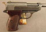 WW2 German P.38 Pistol by Walther (With 35* Marking) - 2 of 12
