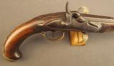 Percussion Conversion of a European Flintlock Traveling Pistol - 2 of 11