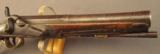Percussion Conversion of a European Flintlock Traveling Pistol - 3 of 11
