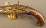 Percussion Conversion of a European Flintlock Traveling Pistol - 5 of 11