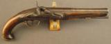 Percussion Conversion of a European Flintlock Traveling Pistol - 1 of 11