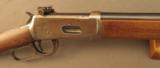 Winchester 1894 Rifle With Peep Sight 30-30 Built 1921 - 4 of 12