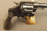 Colt Police Positive 1st Issue Transitional Revolver - 2 of 12