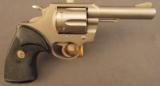 Colt Lawman Revolver MK3 With Electroless Nickel Finish - 1 of 8