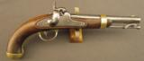 U.S. Model 1842 Percussion Pistol by Aston