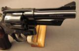 S&W 357 Magnum Revolver Model 27-9 in Box w/4
