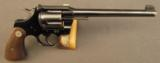 Colt Officers Model Revolver 2nd Issue 38 Special