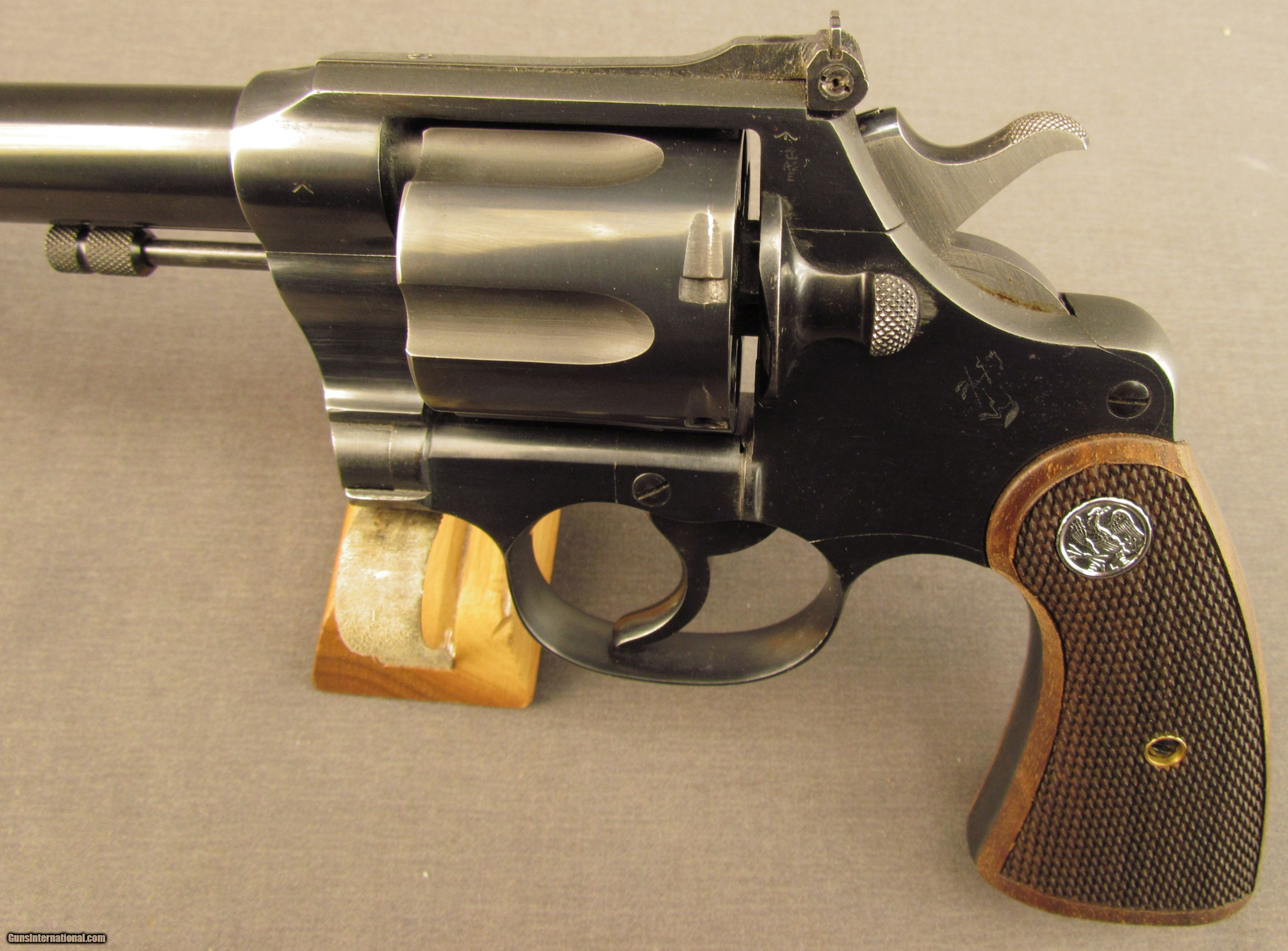 Very Nice Custom New Service Target Revolver w/ Two Cylinders