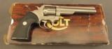 Colt Trooper Revolver Electroless Nickel Finish Mk. III