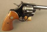 Colt Officer's Model Match Revolver (Fifth Issue) - 2 of 10