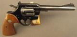 Colt Officer's Model Match Revolver (Fifth Issue)