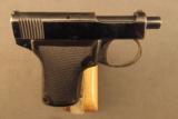 Webley and Scott Vest Pocket Pistol 1912