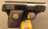 Colt Vest Pocket Model 1908 Pistol 25 ACP