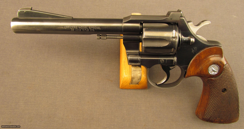 Colt officers model 22 revolver
