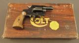 Colt Detective Special Revolver 2nd Issue in .32 Caliber