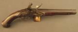 Austrian Revolutionary War Flintlock Pistol with Unit Marking