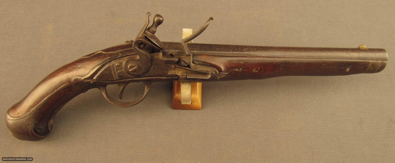 Austrian Revolutionary War Flintlock Pistol with Unit Marking