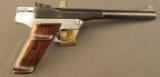 Rex-Merrill Sportsman Single-Shot Pistol 32-20 Caliber