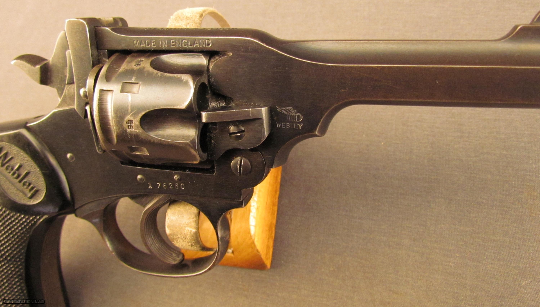 Webley Mk Iv Wood Grips