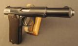 Astra Pistol Model 600 with Holster - 3 of 12