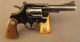 Colt Trooper 38 Special Revolver 1st Issue