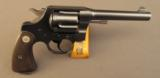 Colt New Service Revolver with Lanyard Swivel Commercial 1930s - 2 of 12