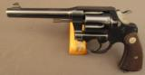Colt New Service Revolver with Lanyard Swivel Commercial 1930s - 4 of 12
